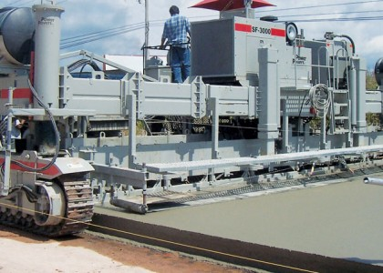 Power Curber Slipform Paving Machine