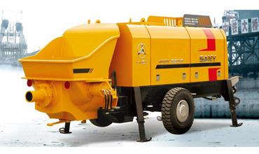 Sany Trailer-mounted Concrete Pump