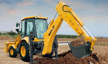 SDLG Backhoe Loader